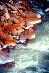 River rocks In Ouray Colorado