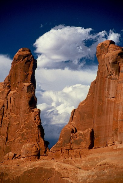 The Wall In Arches National Park