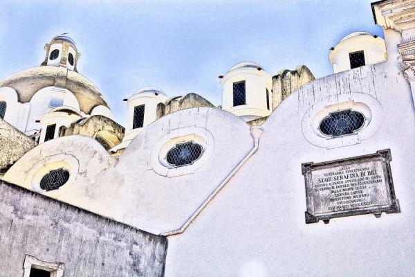 Church In Capri Italy
