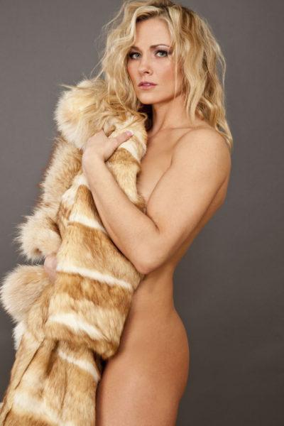 Kim With Fur