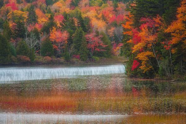 Acadia lake, IR